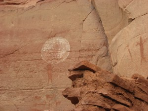 Rock art, Boynton Canyon, AZ
