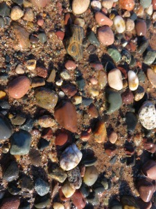 Pebbles on the shore