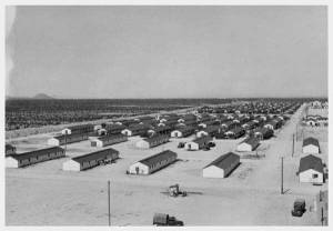 Gila River barracks 1942